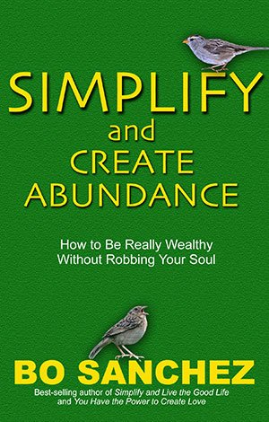 Simplify and Create Abundance by Bo Sanchez Book Review, Mom Finance Blog, MomFinanceBlog.com