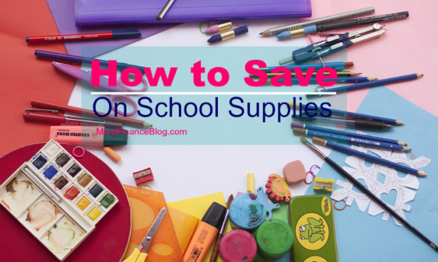 3 Ways to Save on School Supplies