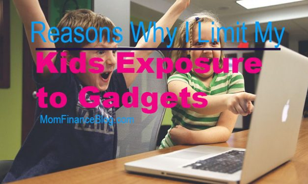 Reasons why I Limit my Kids Exposure to Gadgets