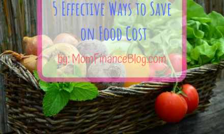 5 Effective Ways to Save on Food Cost