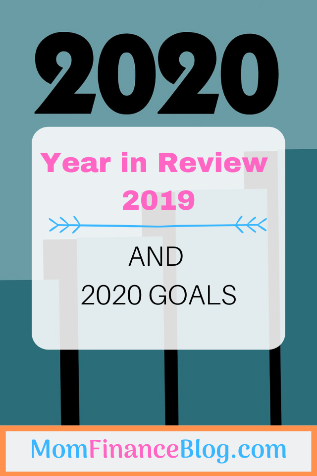 2020 Goals, Mom Finance Blog